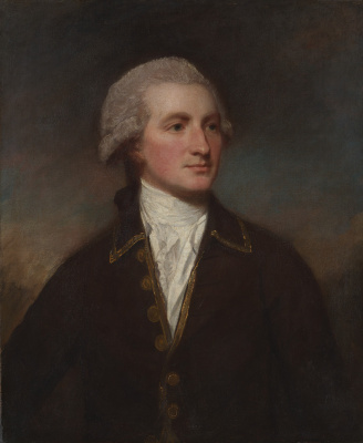 George Romney. Portrait of a Man