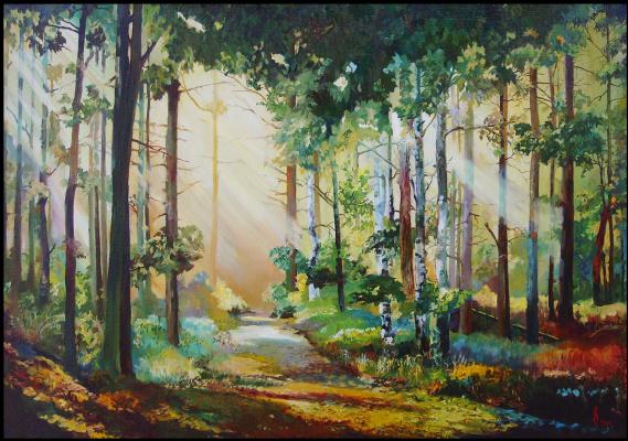 Андрей Богданов. Зелёный лес