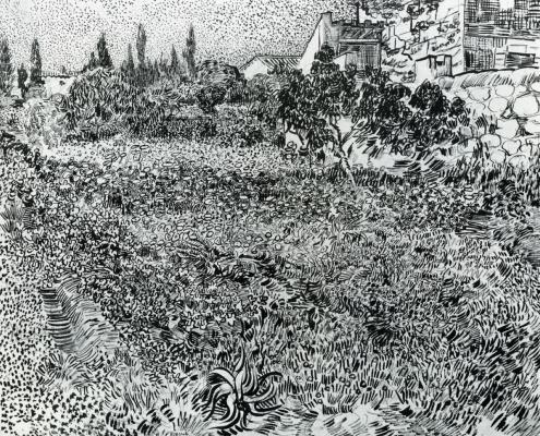 Винсент Ван Гог. Сад в Провансе