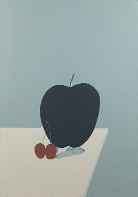 "Victor Dmitrievich Pivovarov. Black apple Cycle ""Seven Conversations"""