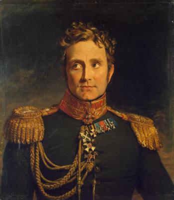 George Dow. Portrait of Alexander F. Michaud de Boratory