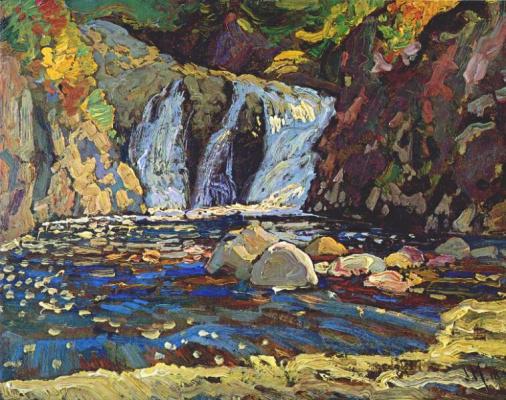 Джеймс Эдуард Херви Макдональд. Маленький водопад