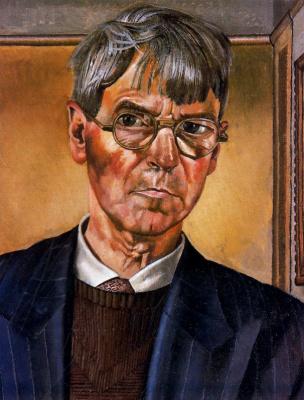 John Roddem Spencer-Stanhope. Self-portrait