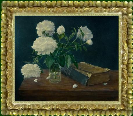 Василий Коркишко. Still life with a book