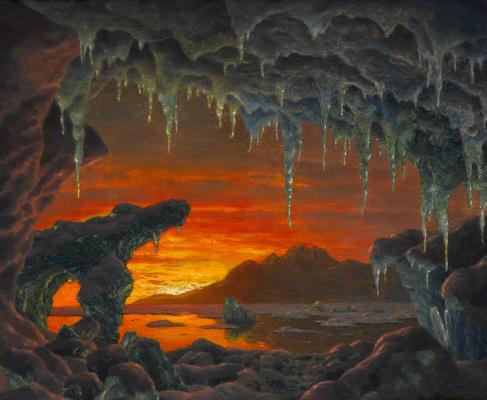 Ivan Fedorovich Schultze. Arctic grotto