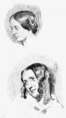 Eugene Delacroix. Jenny Guillou and Josephine de Forget