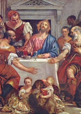 Паоло Веронезе. Христос в Эммаусе