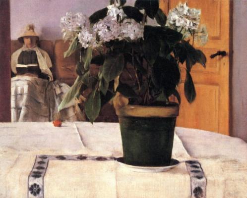 Fernand Khnopff. Hydrangea