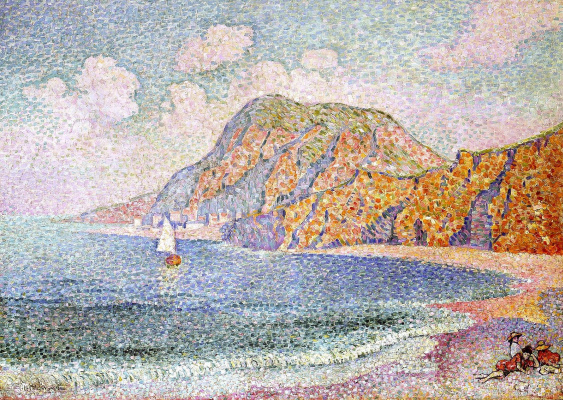 Jean Metzinger. Sea shore