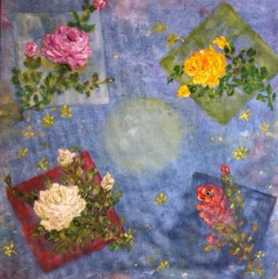 "Rita Arkadievna Beckman. ""Roses, stars and squares"" (N. Zabolotsky)"