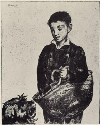 Edouard Manet. Street urchin