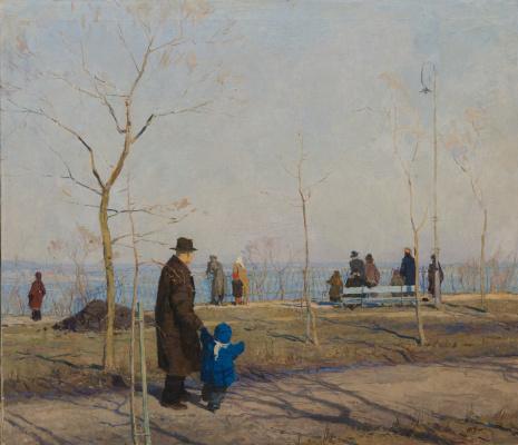 Tetyana Yablonska. On The Dnieper