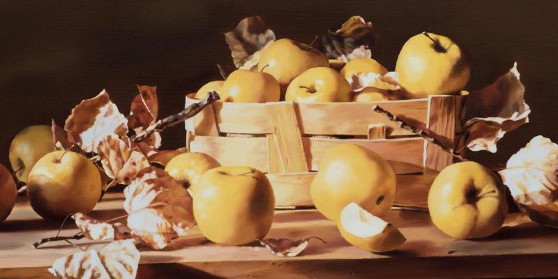Boris Borisovich Leifer. Apples