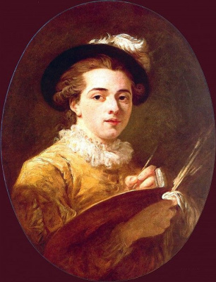 Jean-Honore Fragonard. Self-portrait