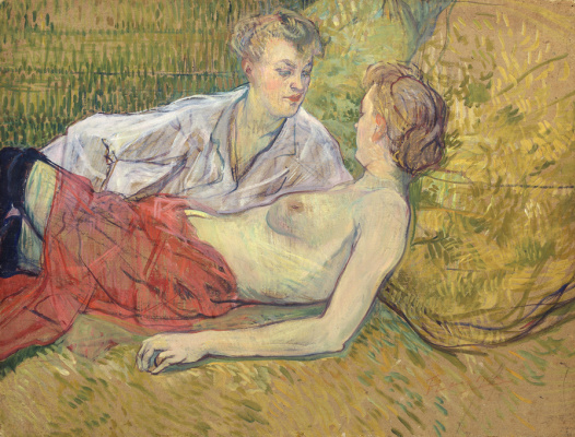 Henri de Toulouse-Lautrec. Friends