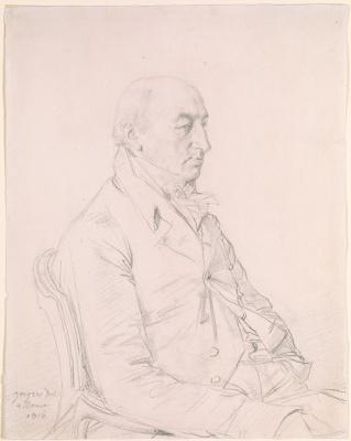 Jean Auguste Dominique Ingres. Lord Glenbervie