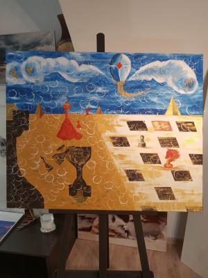 Мария Солнечная. Шахматная пустыня