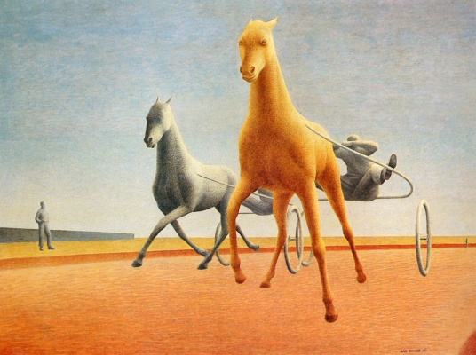 Alex Colville. Two Pacer
