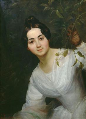 Karl Pavlovich Bryullov. Portrait Of M. S. Voeikov