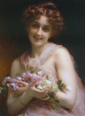 Этьен Адольф Пиот. Цветы