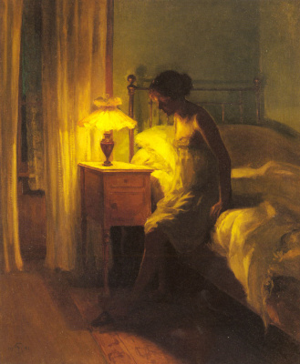 Петр Вильгельм Илстед. В спальне