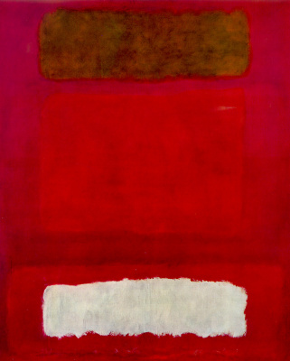 Rothko Mark.  No. 16. Red, white and brown