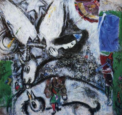 Marc Chagall. Circus Maximus