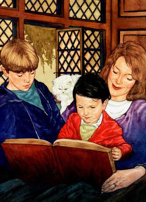 Майкл Хаг. 0025 Когда мама читает вслух