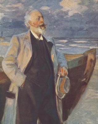 Peder Severin Kreyer. Khol'der, Drachman