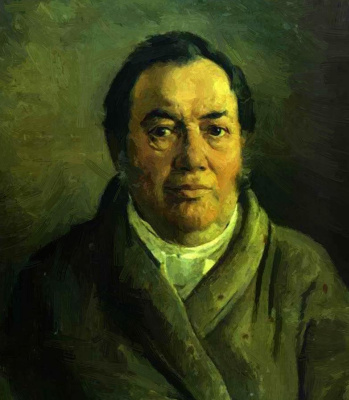 Nikolai Nikolaevich Ge. Portrait of the artist's father Nikolai Osipovich