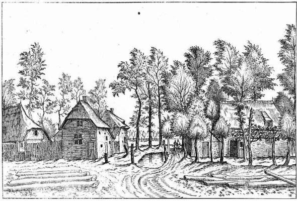 "Pieter Bruegel The Elder. The series ""Small landscapes"". Landscape # 23"
