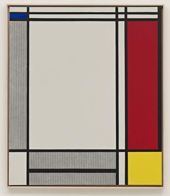 Roy Lichtenstein. Abstraction I