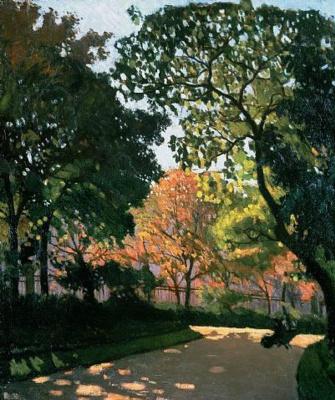 Albert Marquet. Luxembourg gardens