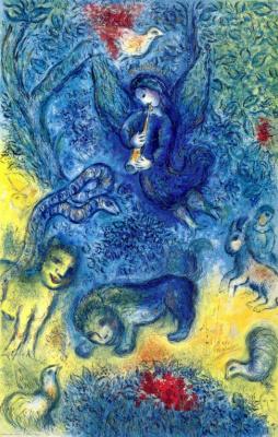 Марк Захарович Шагал. Волшебная флейта