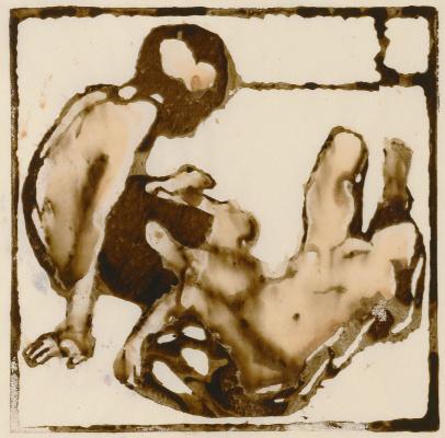 Giovanni Giacometti. Boys in the sun