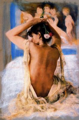 Каэтано де Аркер Буигас. Гвоздики в волосах