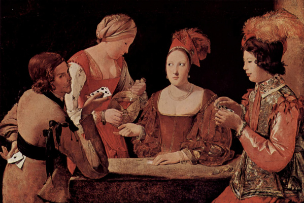 Georges de La Tour. Sharpie