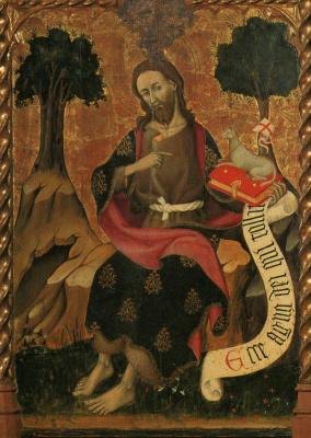 Бернат Марторель. Центральная панель алтаря Святого Иоанна