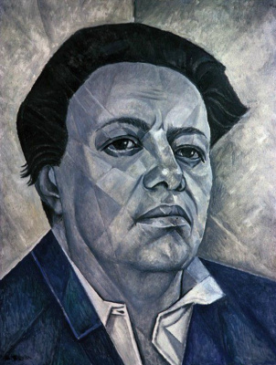 Мария Брониславовна Маревна (Воробьева-Стебельская). Портрет Диего Риверы