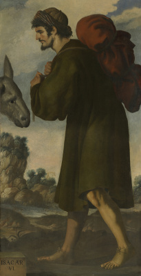 """Francisco de Zurbaran. Issachar from the series """"Jacob and his twelve sons"""""""