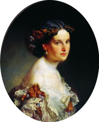 Портрет неизвестной. 1860