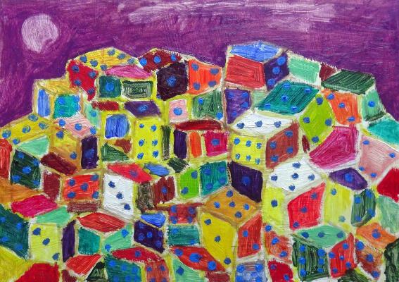 Мурад Халилов. The city of dice