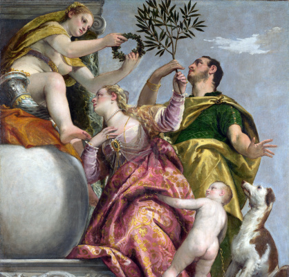 Paolo Veronese. Four allegories of Love. Happy marriage