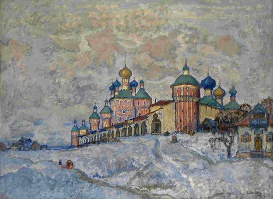 Константин Иванович Горбатов. Вид монастыря. 1933