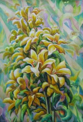Андрей Никонорович Сутин. Solar flowers