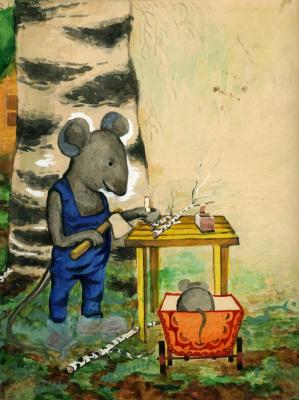 О мышонке-7