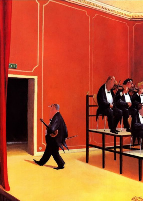 Gerhard Gluck. Once again Paul Bakle was finished early orchestra