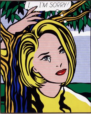 Roy Lichtenstein. I.. I'm sorry!