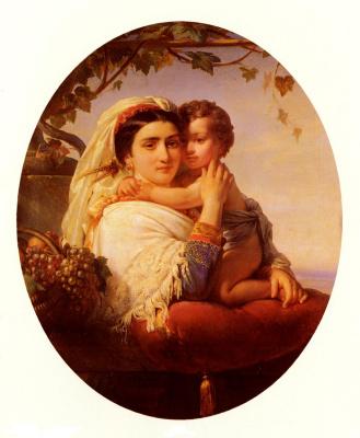 Иосиф Сталлаерт. Материнство