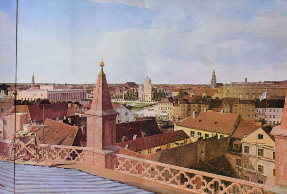 Эдуард Гертнер. Панорама Берлина